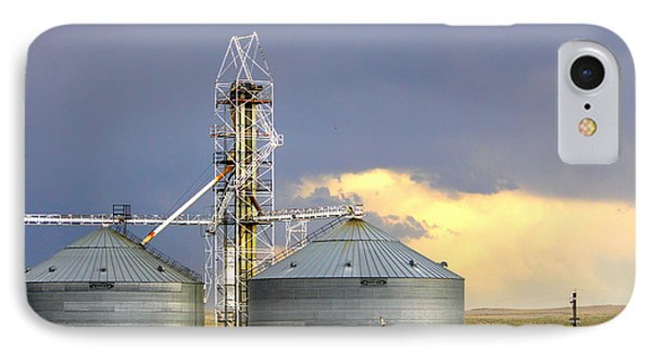 IPhone Case featuring the photograph Kansas Farm by Jeanette C Landstrom