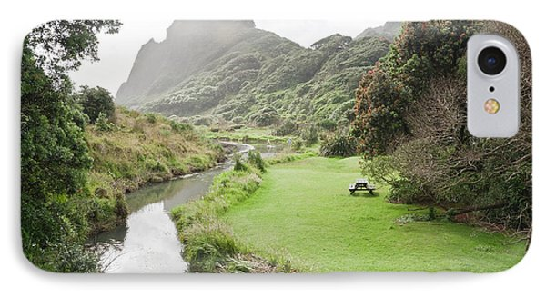 Karekare Beach Area In New Zrealand IPhone Case