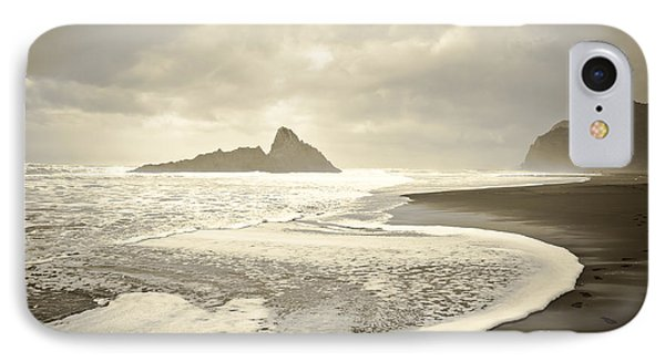 Karekare Beach In New Zealand IPhone Case