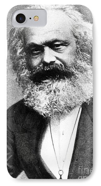 Karl Marx Phone Case by Unknown