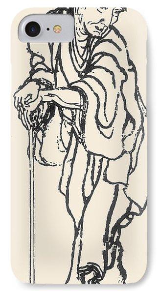 Katsushika Hokusai Phone Case by Granger