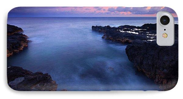 Kauai  Pastel Tides Phone Case by Mike  Dawson