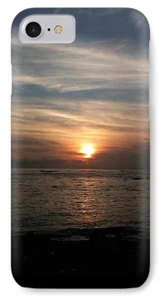 IPhone Case featuring the photograph Kauai Sunset by Carol Sweetwood