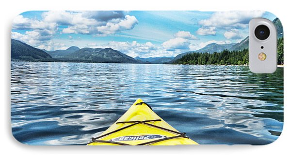 Kayaking In Bc IPhone Case