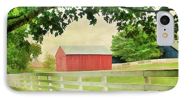Kentucky Country Side Phone Case by Darren Fisher