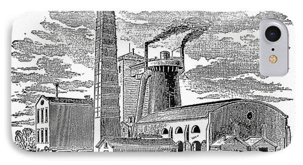 Kentucky: Factory, 1876 Phone Case by Granger
