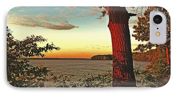 IPhone Case featuring the photograph Kentucky Lake Sunrise by William Fields