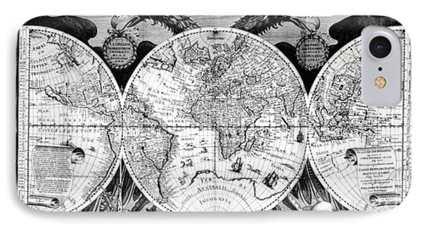 Keplers World Map, Tabulae Phone Case by Science Source