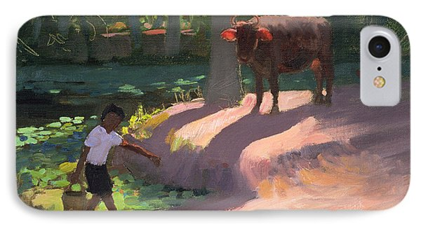 Kerala Backwaters IPhone Case by Andrew Macara