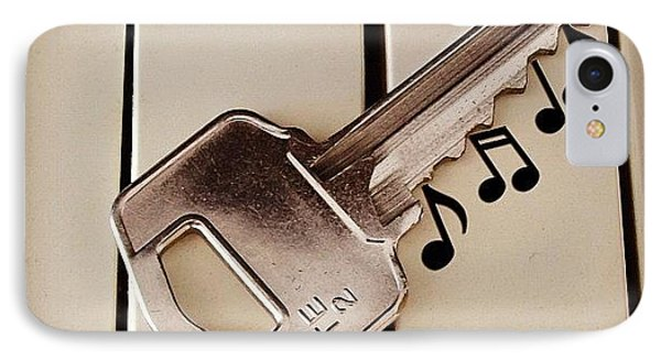 Key IPhone Case by Cameron Bentley