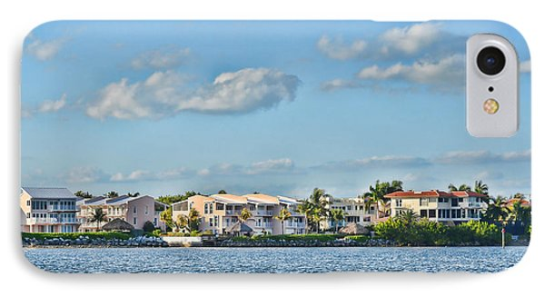 Key Largo Houses Phone Case by Chris Thaxter