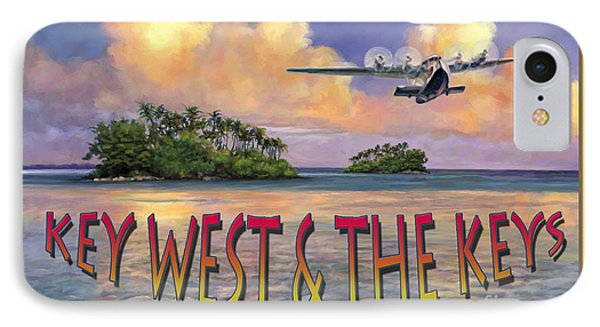 Key West Air Force IPhone Case by David  Van Hulst