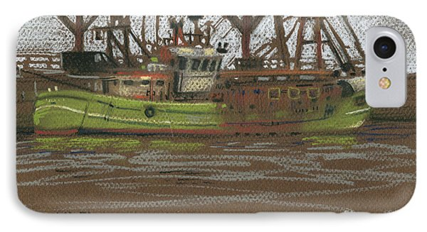 Kilmore Quay Fishing Trawler IPhone Case by Donald Maier