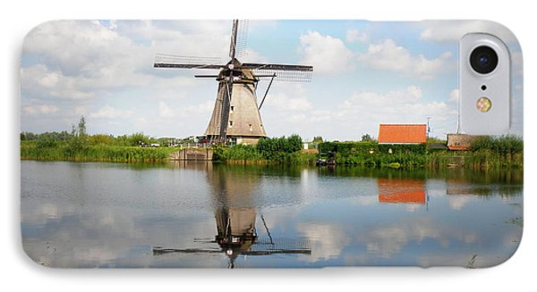 Kinderdijk Windmill Phone Case by Lainie Wrightson