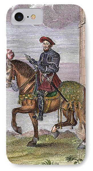 King Francis I (1494-1547) Phone Case by Granger