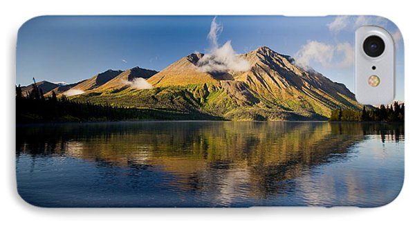 Kings Throne Mountain And Kathleen Phone Case by John Sylvester