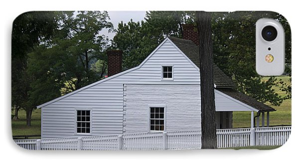 Kitchen And Slave Quarters Appomattox Virginia Phone Case by Teresa Mucha