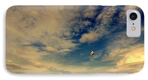 Kite At Folly Beach Near Charleston Sc Phone Case by Susanne Van Hulst