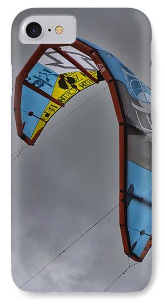 Kite Surfing IPhone Case by Douglas Barnard