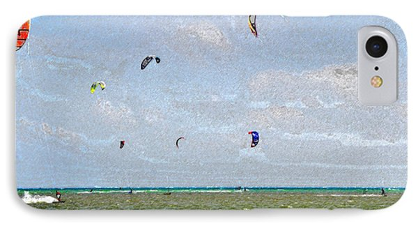 Kites Over The Bay Phone Case by David Lee Thompson