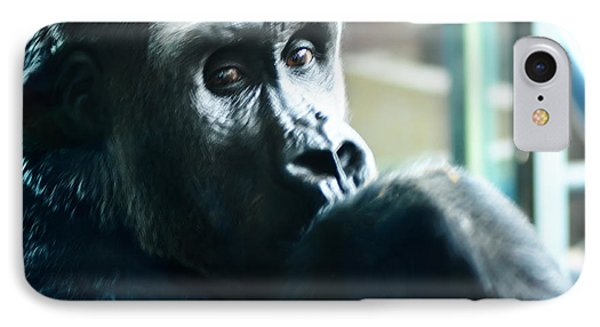 Kivu The Gorilla Phone Case by Bill Cannon