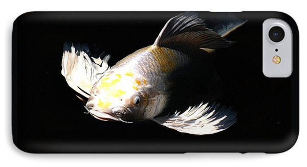 Koi Coming To The Light Phone Case by Don Mann
