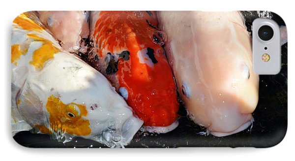 IPhone Case featuring the photograph Koi Fish by Werner Lehmann