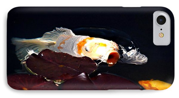 Koi In The Lillies Phone Case by Don Mann