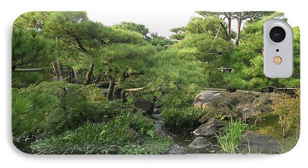 Kokoen Samurai Gardens - Himeji City Japan Phone Case by Daniel Hagerman