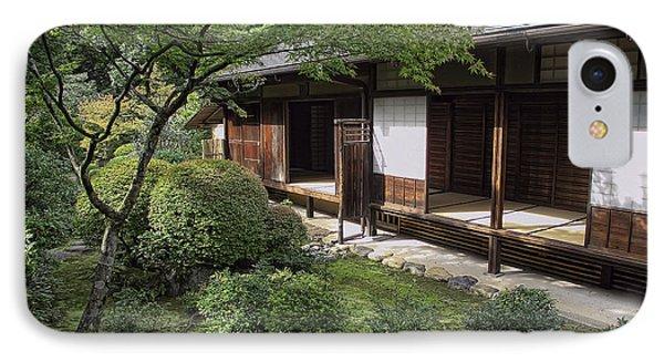 Koto-in Zen Tea House And Garden - Kyoto Japan Phone Case by Daniel Hagerman