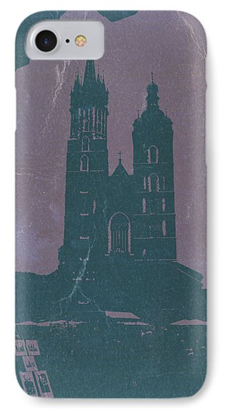 Krakow IPhone Case by Naxart Studio