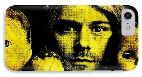 Kurt Cobain Phone Case by Ankeeta Bansal