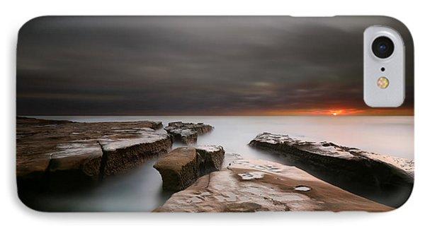 La Jolla Reef Sunset Phone Case by Larry Marshall