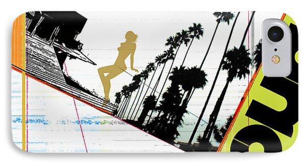 LA Phone Case by Naxart Studio
