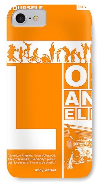 La Orange Poster IPhone Case