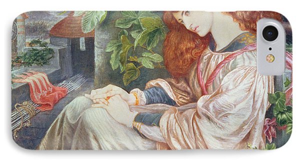 La Pia De Tolomei IPhone Case by Dante Charles Gabriel Rossetti