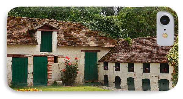 La Pillebourdiere Old Farm Outbuildings In The Loire Valley Phone Case by Louise Heusinkveld