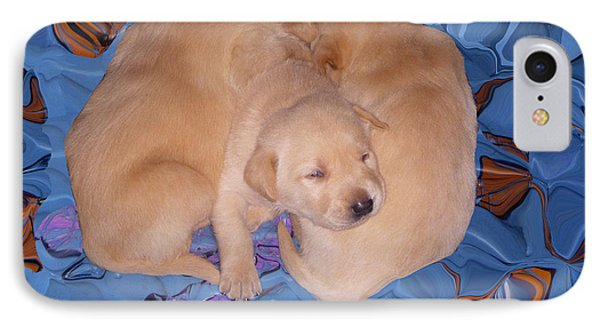 Lab Pups 2 Phone Case by Aimee L Maher Photography and Art Visit ALMGallerydotcom