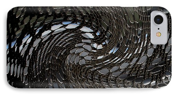 Lacey Abstract2 IPhone Case by Karen Harrison