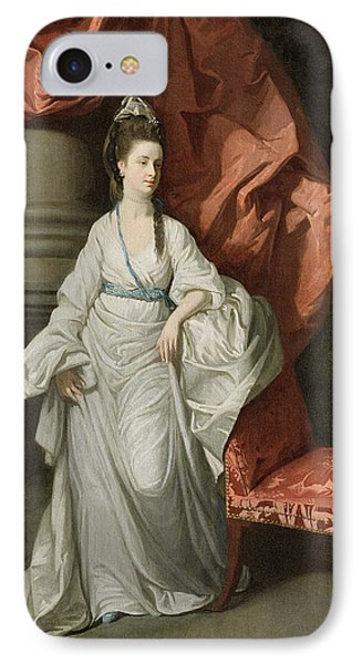 Lady Grant - Wife Of Sir James Grant Phone Case by Johann Zoffany