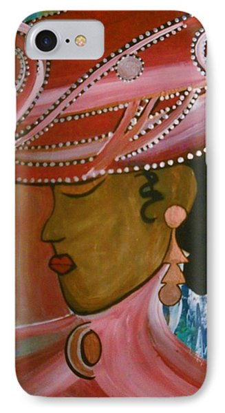 Lady In Pink IPhone Case