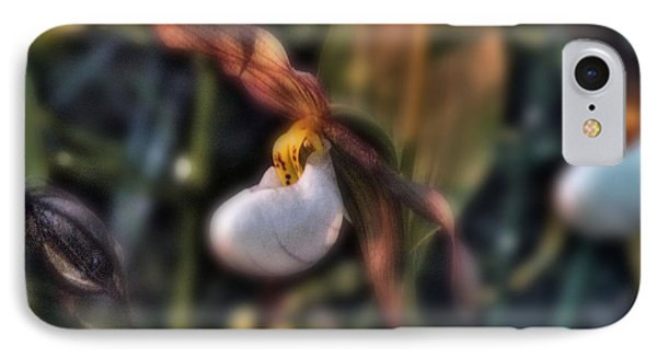 IPhone Case featuring the photograph Lady Slipper1 by Janie Johnson