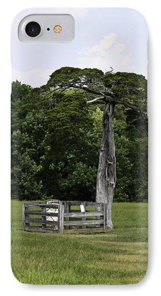 Lafayette Meeks Cemetery Appomattox Virginia Phone Case by Teresa Mucha