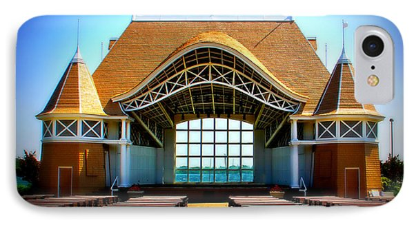 Lake Harriet Bandshell IPhone Case by Perry Webster