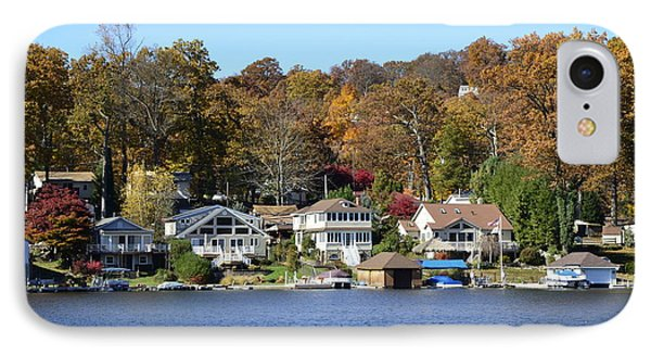 Lake Hopatcong Scene 3 IPhone Case by Maureen E Ritter