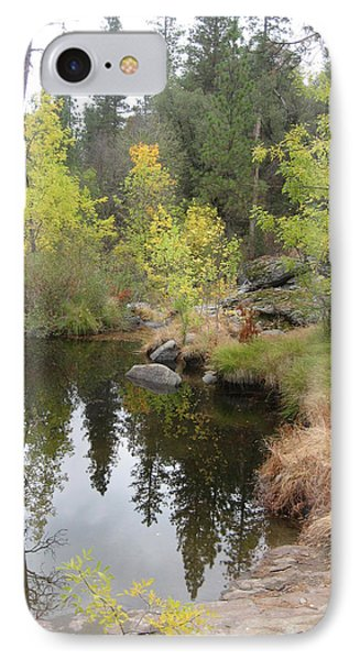 Lake In Sierras IPhone Case
