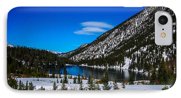IPhone Case featuring the photograph Lake In The Mountains by Shannon Harrington