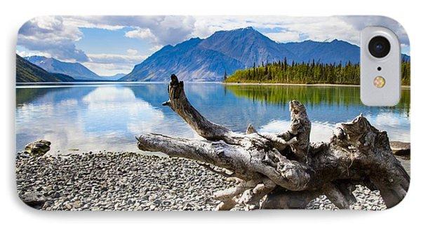 Lake Kathleen In Kluane National Park Phone Case by Blake Kent
