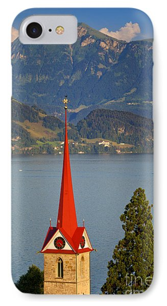 Lake Lucerne Phone Case by Brian Jannsen