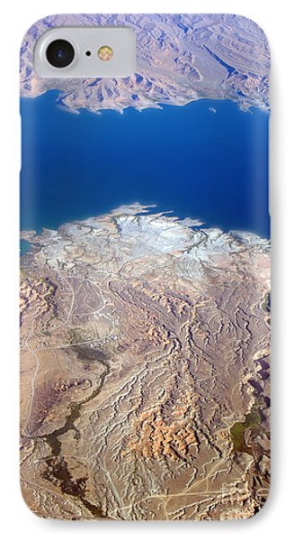 Lake Mead Nevada Aerial Phone Case by James BO  Insogna